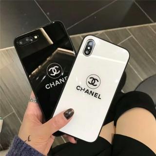 Ốp Lưng Kính Cường Lực Chanel