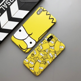 Ốp Lưng Silicon The Simpsons