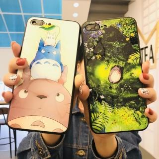 Ốp Lưng Kính Cường Lực Totoro