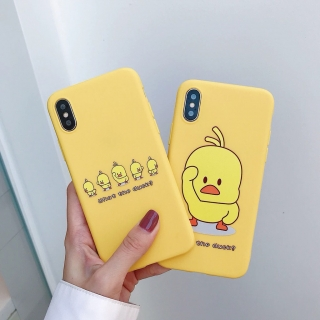Ốp Lưng Silicon What The Duck