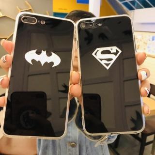 Ốp Lưng Super, Bat Gương 3D - Lưng Silicon Giả Kính, Chữ Gương