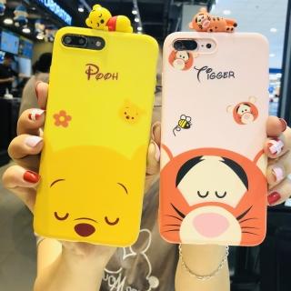 Ốp Lưng Silicon Pooh & Tiger