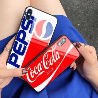 Ốp Lưng Kính Cường Lực Pepsi - Cola