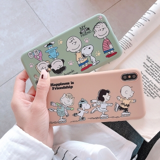 Ốp Lưng Silicon Friend Snoopy