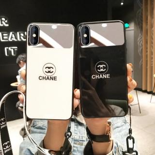 Ốp Lưng Kính Cường Lực Chanel - Lens Gương