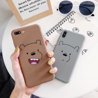 Ốp Lưng Silicon Bear