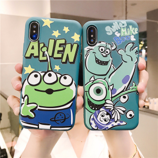 Ốp Lưng Silicon Sulley x Mike