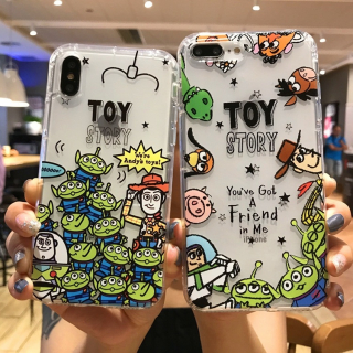 Ốp Lưng Silicon Chống Sốc Toy Story