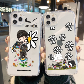 Ốp Lưng Silicon Chống Sốc Daisy Flower