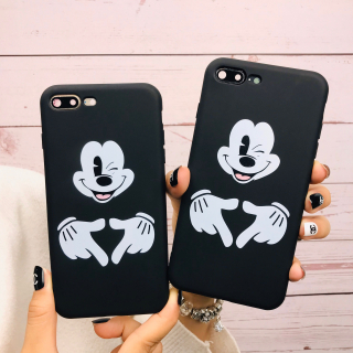 Ốp Lưng Silicon Mickey Mouse