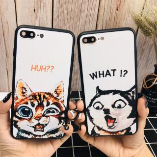 [ IPHONE ] Ốp Lưng Silicon Mèo & Cún