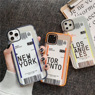 [ IPHONE ] Ốp Lưng Viền Màu Chống Sốc Label Fashion