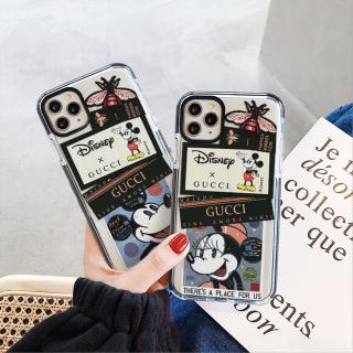 [ IPHONE ] Ốp Lưng Viền Màu Chống Sốc Couple Mickey