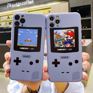 Ốp Lưng Silicon Màu Bảo Vệ CAMERA Super Mario