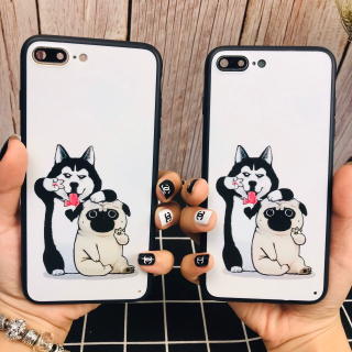 [ IPHONE ] Ốp Lưng Silicon Husky