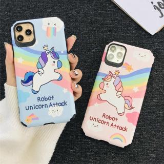 Ốp Lưng Da IMD Unicorn Attack