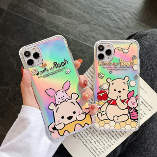 Ốp Lưng Silicon Chống Sốc Phản Quang Winnie The Pooh