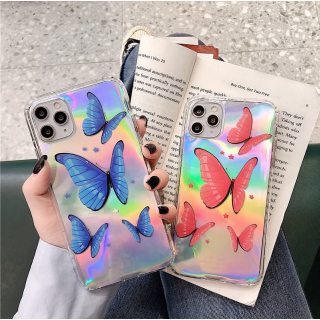 Ốp Lưng Silicon Chống Sốc Phản Quang Butterfly