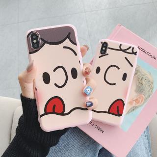 Ốp Lưng Silicon Couple Face Cute