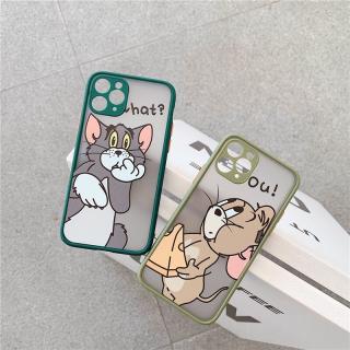 Ốp Lưng Nhám Chống Sock, Va Đập Bảo Vệ Camera Tom vs Jerry