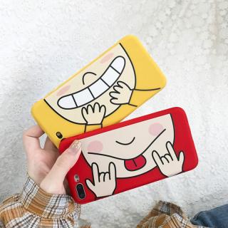 Ốp Lưng Silicon Face Smile