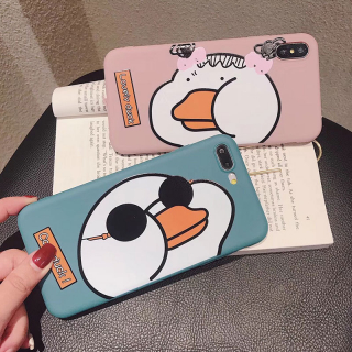 Ốp Lưng Silicon Lovely Duck