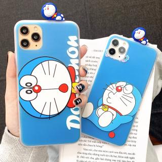 Ốp Lưng Silicon Doraemon ( Kèm Hình Thú )