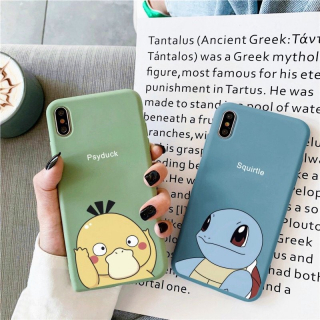 Ốp Lưng Silicon Psyduck x Squirtle