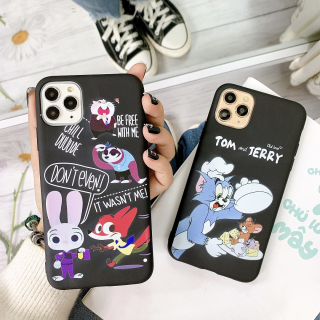 Ốp Lưng Silicon Cartoon Many Characters