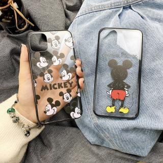 Ốp Lưng Viền Silicon Mickey Mouse