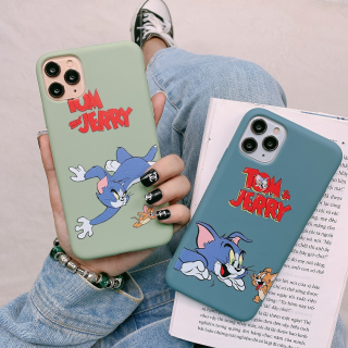 Ốp Lưng Silicon Tom And Jerry