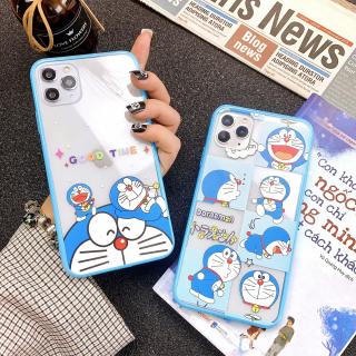 Ốp Lưng Viền Silicon Doraemon Cute