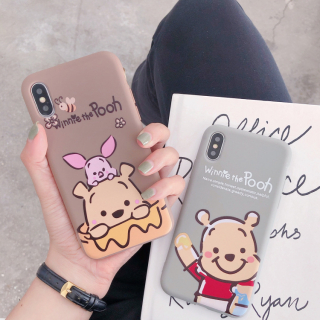 Ốp Lưng Silicon Pooh x Piglet
