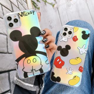 Ốp Lưng Silicon Chống Sốc Mickey ( Kèm Miếng Phản Quang )