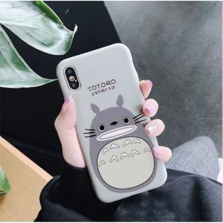 Ốp Lưng Silicon Totoro Gray