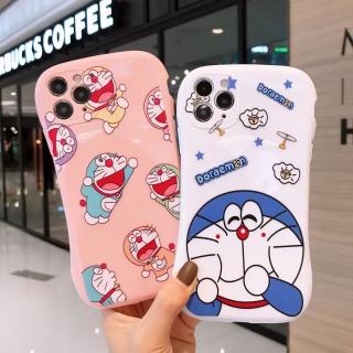 [ IPHONE ] Ốp Lưng Viền Cong Silicon Chống Sock, Va Đập Bảo Vệ Camera Doraemon 2