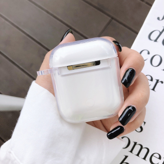 Vỏ Đựng Tai Nghe Airpods Silicon Trong Suốt