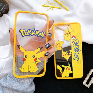 Ốp Lưng Viền Silicon Pikachu