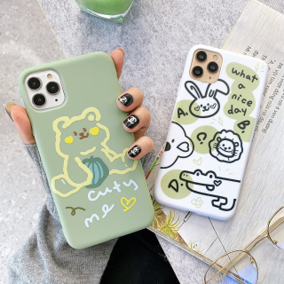 Ốp Lưng Silicon Animal Kute