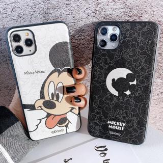 Ốp Lưng Da IMD Họa Tiết Mickey Mouse