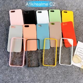 [Oppo A1k/Realme C2] Ốp Lưng Điện Thoại Giá Rẻ Nhiều Màu
