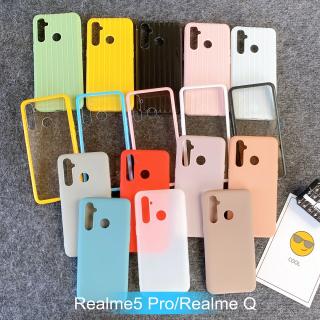 [Oppo Realme5 Pro/Realme Q] Ốp Lưng Điện Thoại Giá Rẻ Nhiều Màu