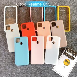 [Oppo Realme C15/C12] Ốp Lưng Điện Thoại Giá Rẻ Nhiều Màu
