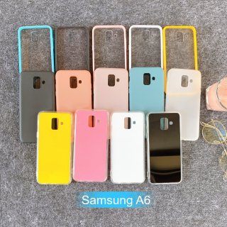 [Samsung A6] Ốp Lưng Điện Thoại Giá Rẻ Nhiều Màu