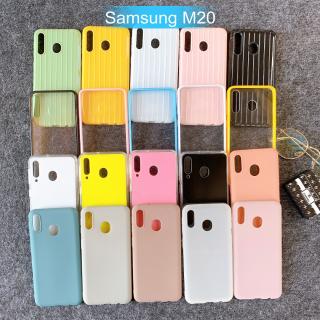[Samsung M20] Ốp Lưng Điện Thoại Giá Rẻ Nhiều Màu