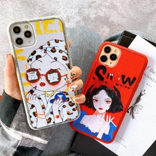 Ốp Lưng Silicon She Snow White