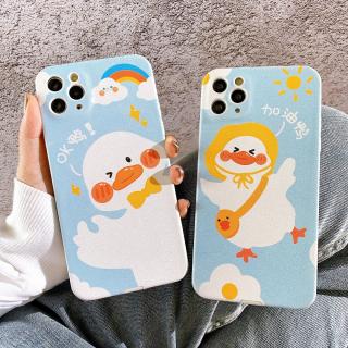 [ IPHONE ] Ốp Lưng Da IMD Full Viền Bảo Vệ Camera Duck Cute !!!