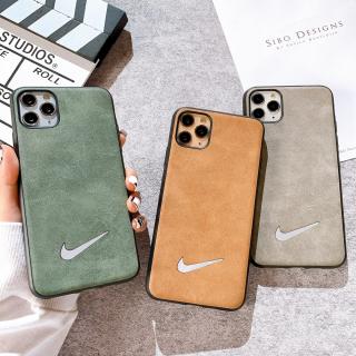 Ốp Lưng Da - Nike Gương